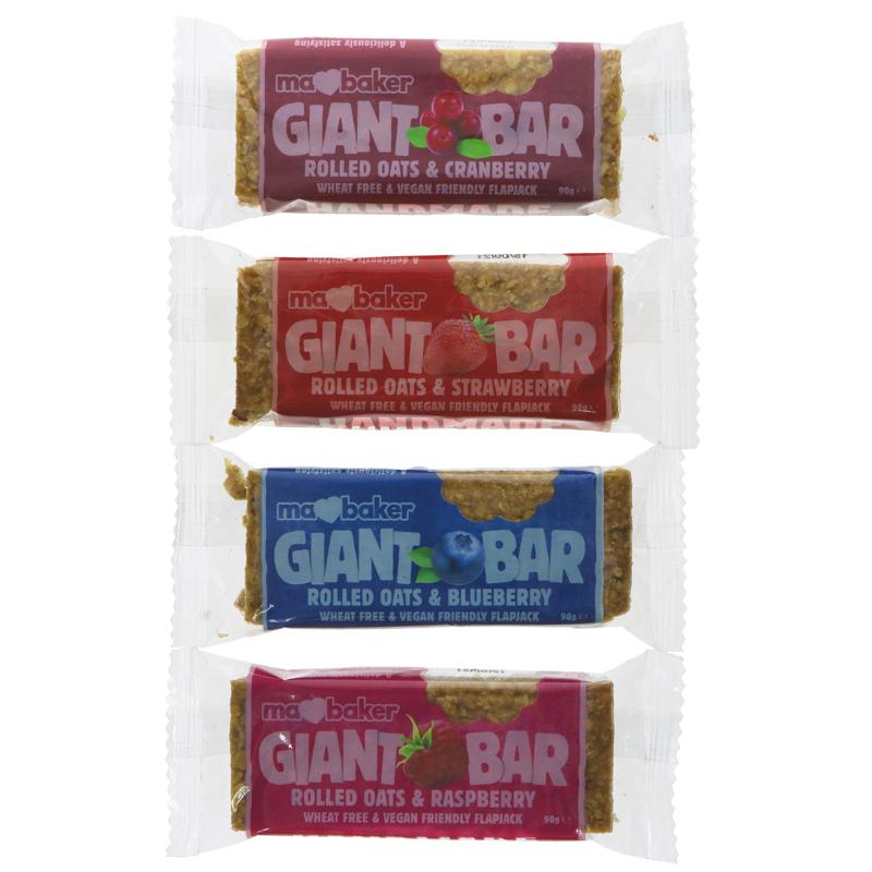 Ma Baker Giant Bar - Raspberry (single)
