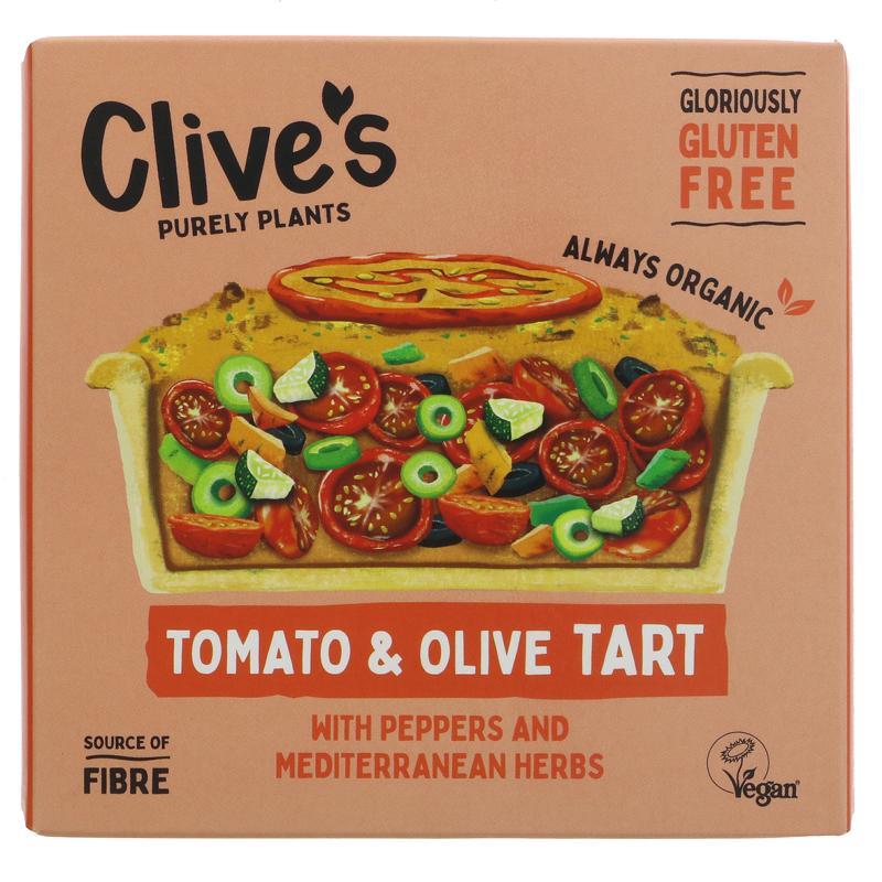 Clive's - Tomato & Olive Tart (GF)
