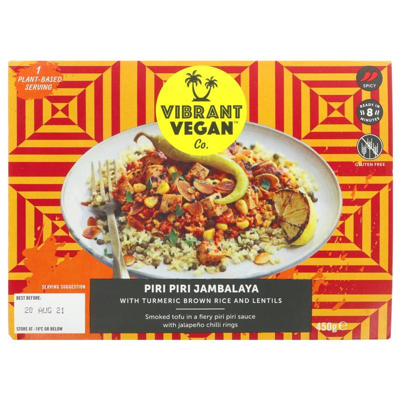 Vibrant Vegan Co - Piri Piri Jambalaya