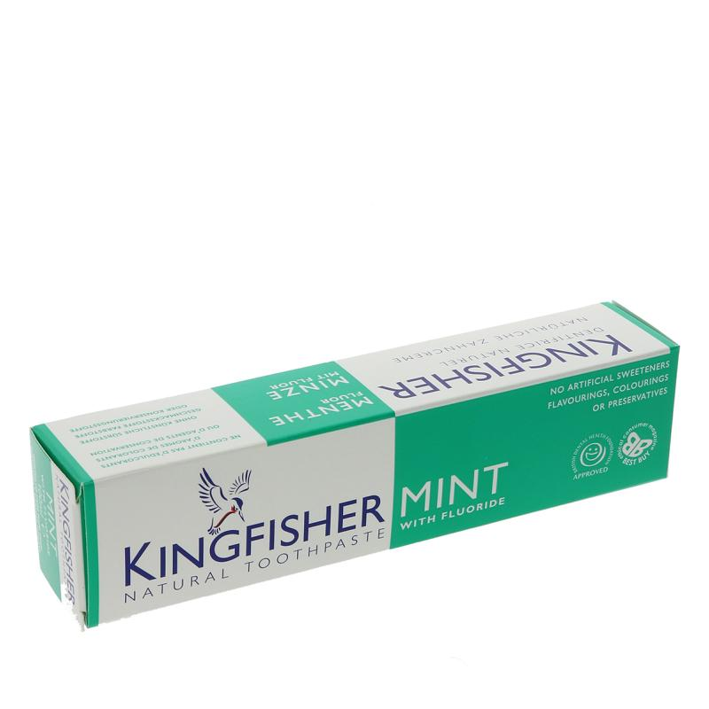 Kingfisher - Mint Toothpaste with fluoride