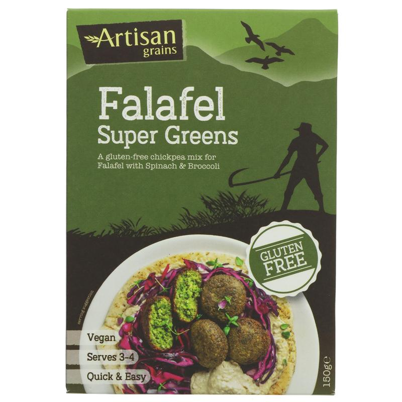 Artisan Grains - Falafel Mix Super Greens