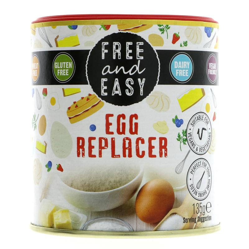 Free & Easy - Egg Replacer