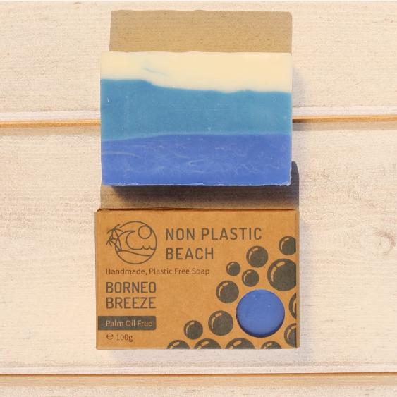 Non Plastic Beach - Handmade Soap 'Borneo Breeze'