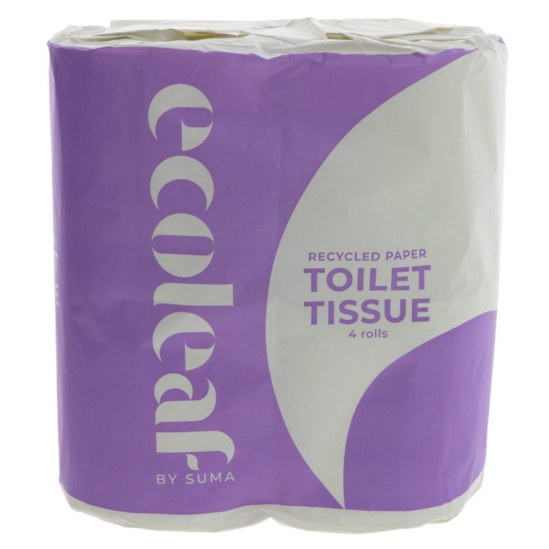 Ecoleaf - Toilet Tissue Roll (4 rolls)