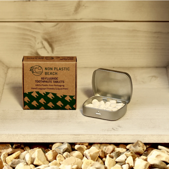 Non Plastic Beach - 60 Toothpaste Tablets
