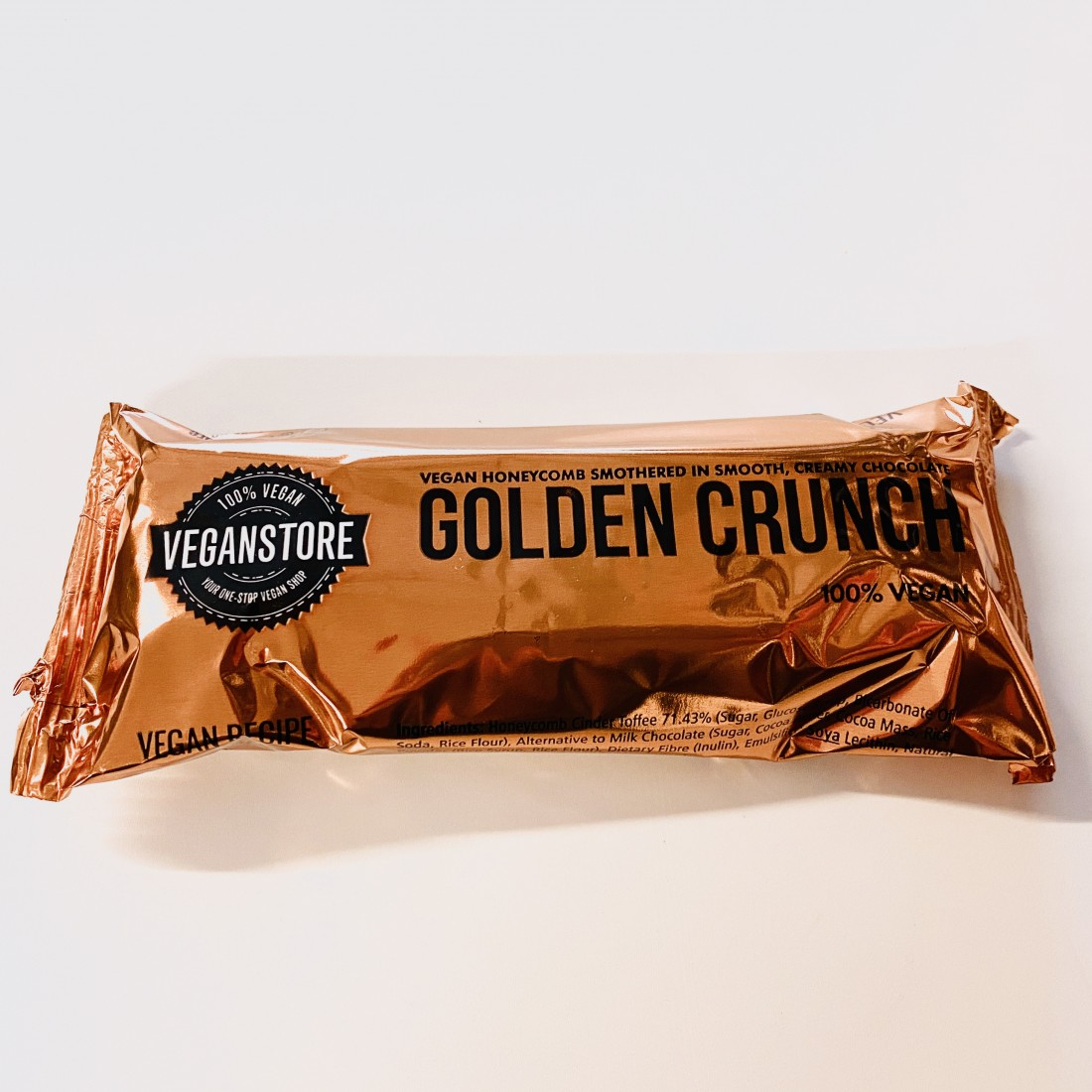 Golden Crunch Bar - Milk Chocolate