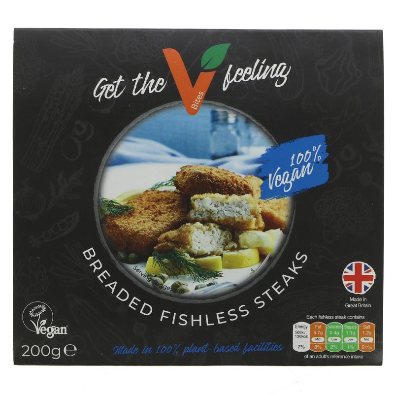 VBites Fishless Steaks ON OFFER