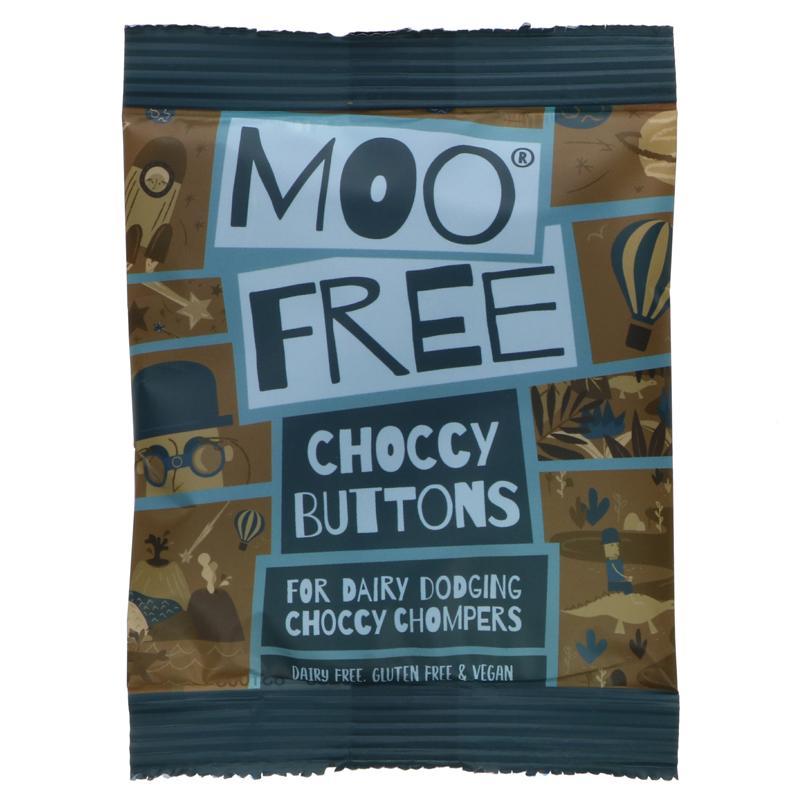 Moo Free - Choccy Buttons 25g
