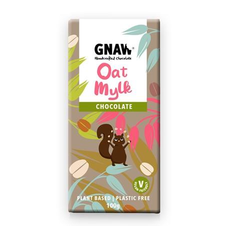 Gnaw - Oat Mylk Chocolate Bar (100g)