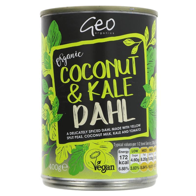 Geo Organics - Coconut & Kale Dahl