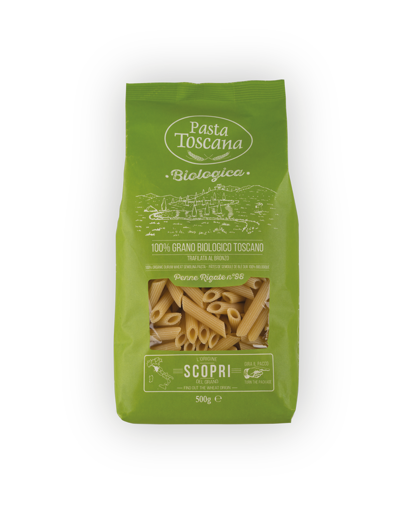 Pasta Toscana - Penne Rigate (white) 500g