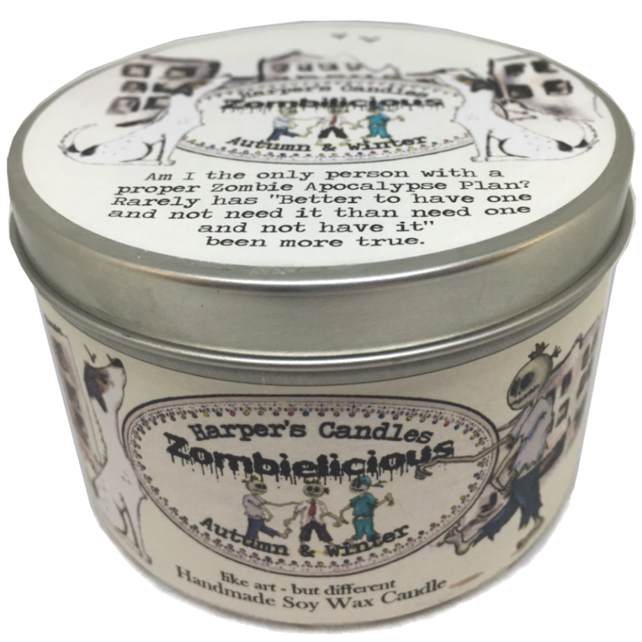 Harper's Candle - Zombielicious