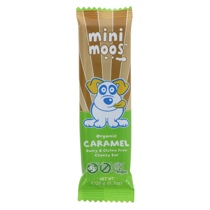 Food Bank Donation - Mini Moos Caramel Choc Bar