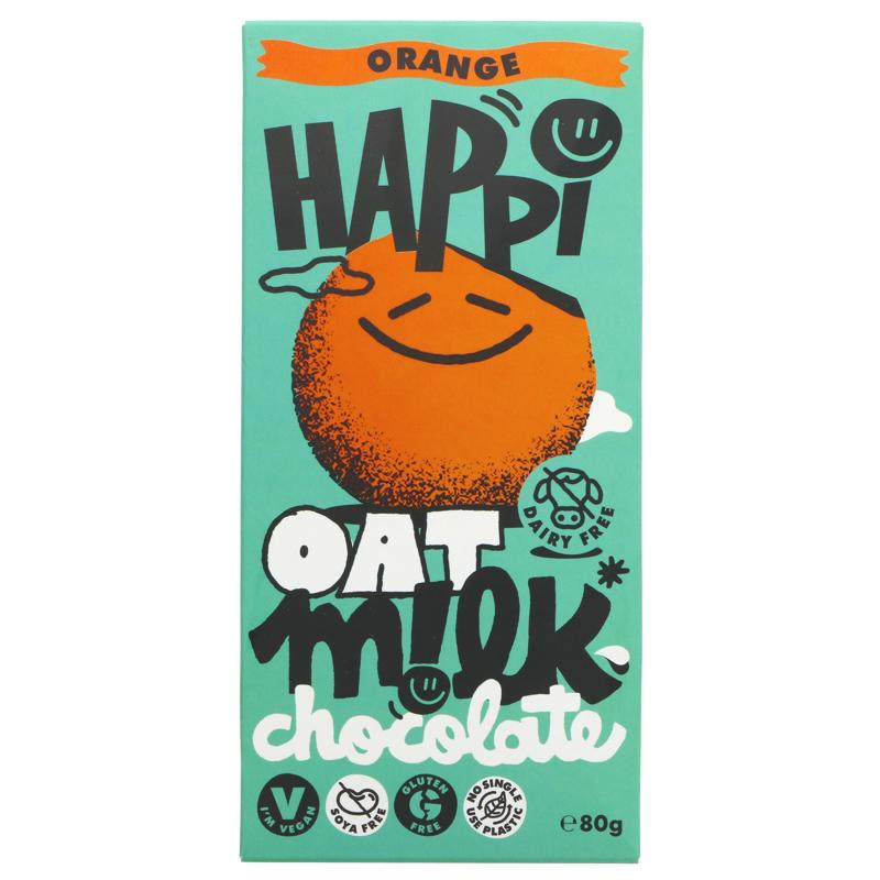 Happi Oat - Orange M!lk Chocolate INTRO PRICE £2.65 (RRP £2.95)
