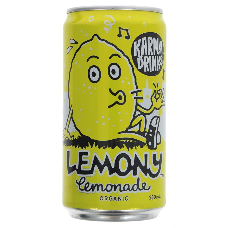 Karma Cola - Lemonade can