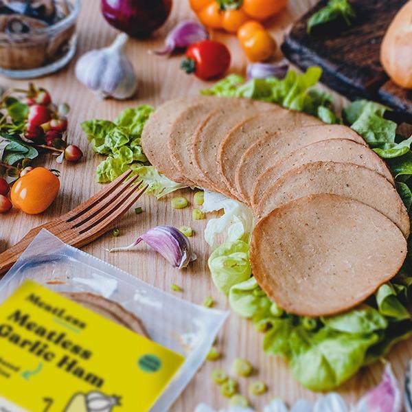 MeatLess - Garlic Ham (120g)