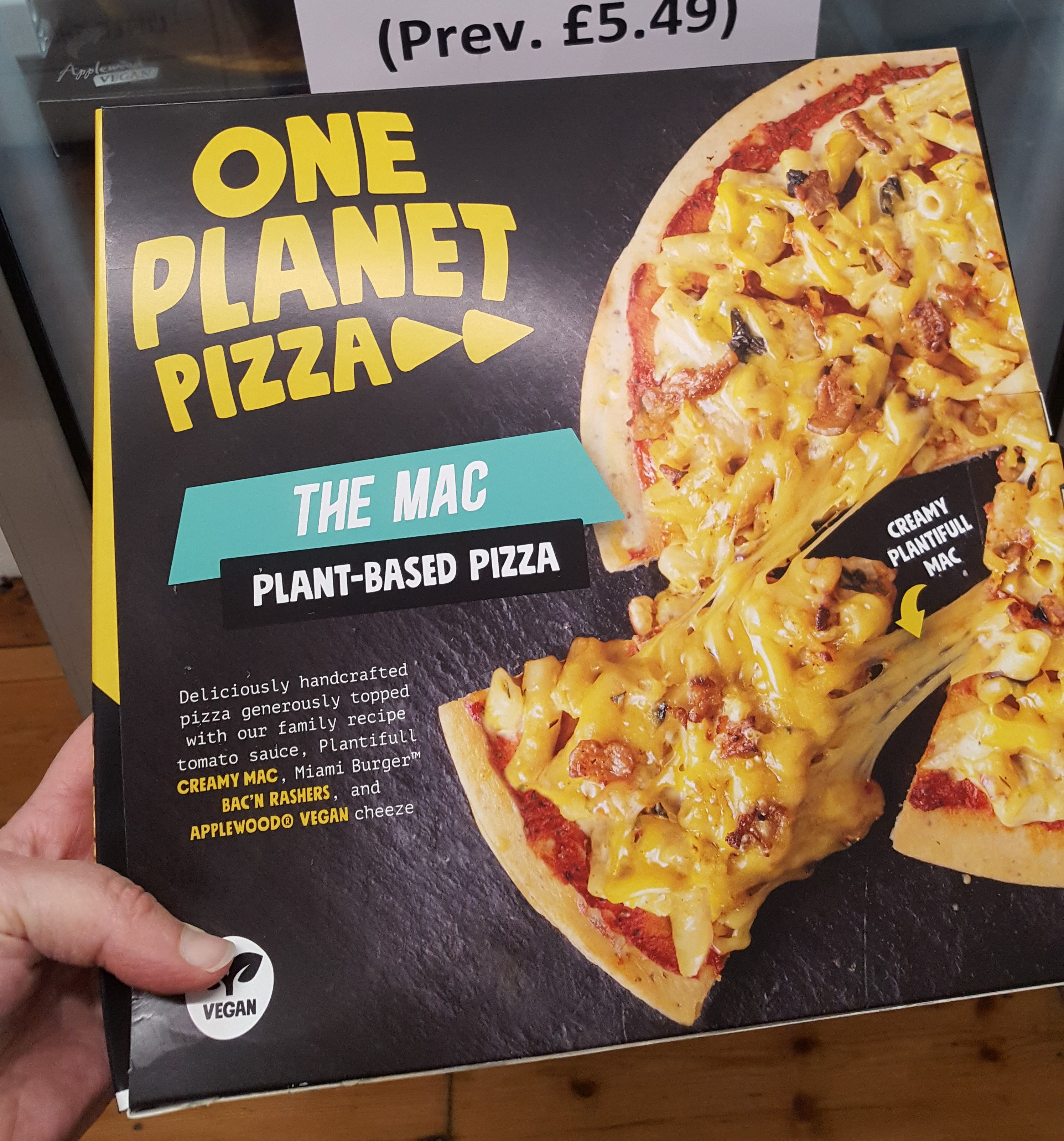 One Planet Pizza - 50% OFF!!! The Mac (Was £5.49)