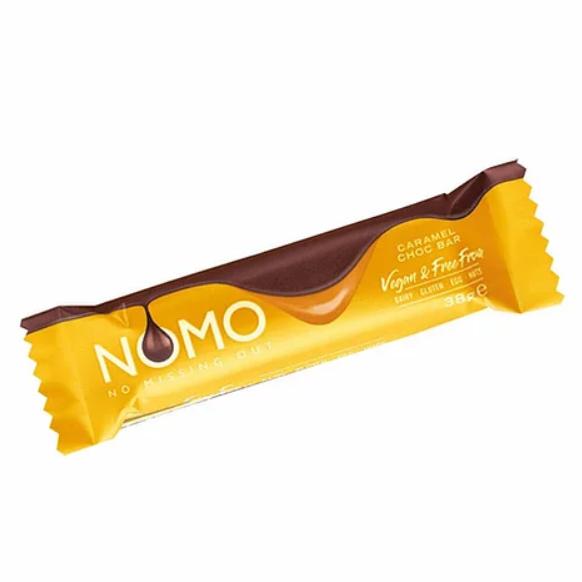 NOMO - Caramel Filled Chocolate Bar (38g)