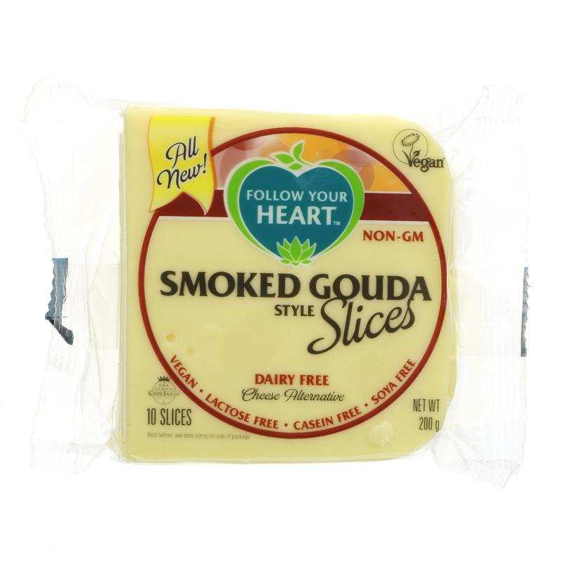 Follow Your Heart - Smoked Gouda Slices