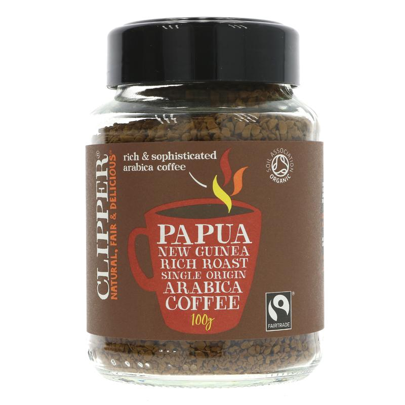 Clipper - Papua New Guinea Rich Roast Instant Arabic Coffee