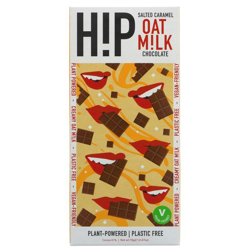 H!P - Happiness In Plants - Salted Caramel Oat Milk Chocolate