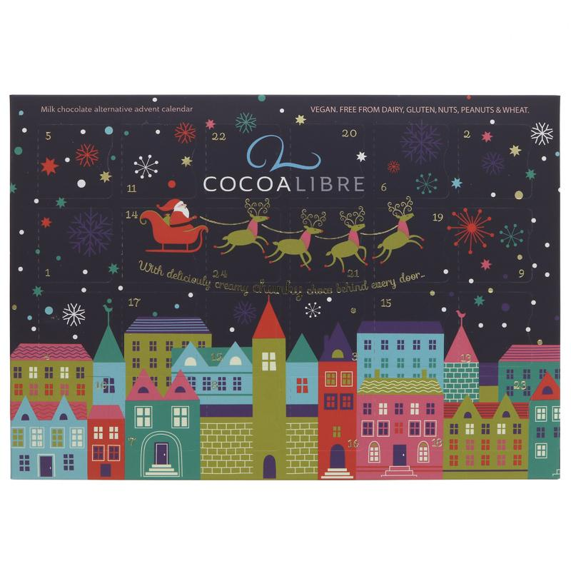 Cocoa Libre - Luxury Milk Choc Alternative Advent Calendar