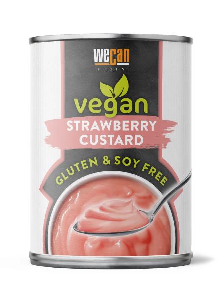 We Can Vegan - Strawberry Custard ON OFFER (RRP £1.80)