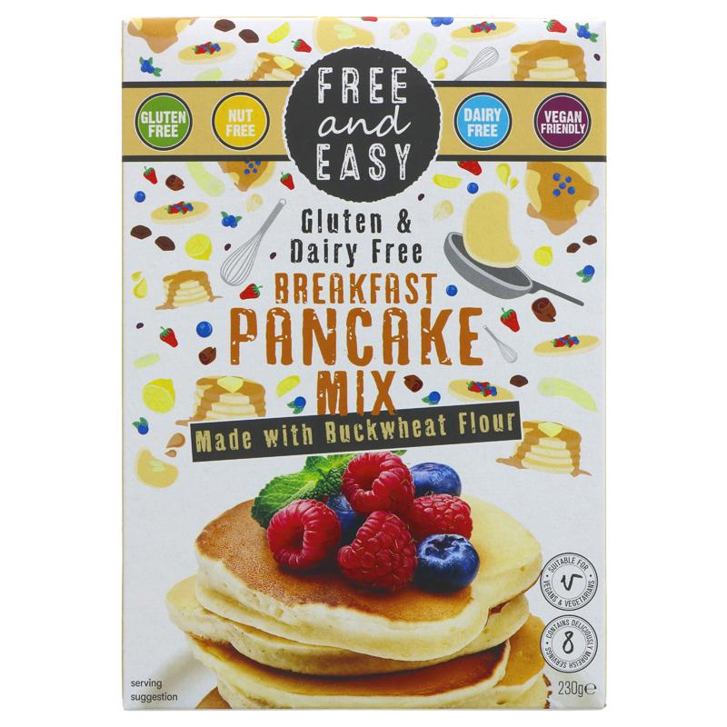 Free & Easy Breakfast Pancake Mix
