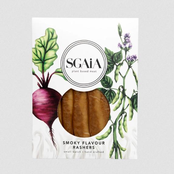 Sgaia - Smoky Flavour Rashers (Vegan Bacon)