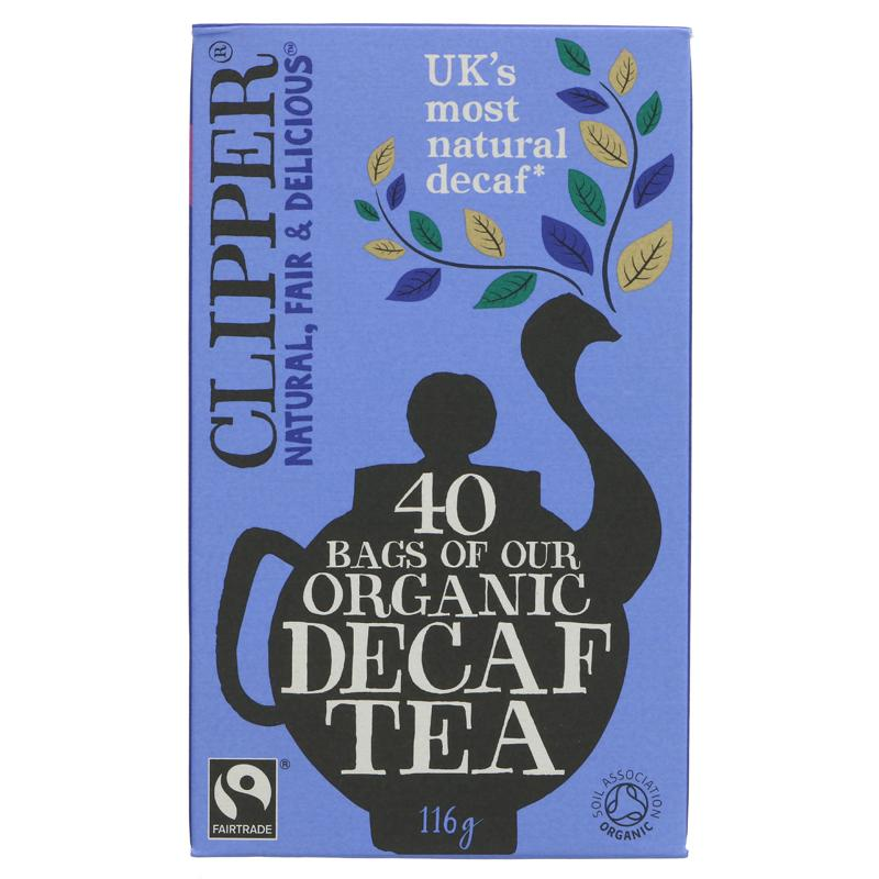Clipper - Organic Decaffeinated Tea - 40 bags