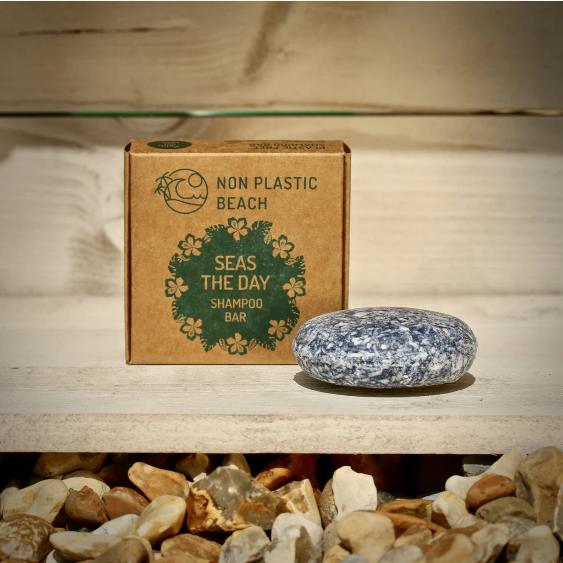 Non Plastic Beach - 'Seas The Day' Shampoo Bar (70g)