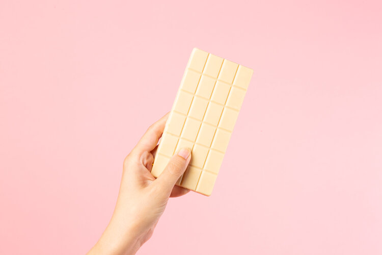 Conscious Candy Co - White Caramelised Biscuit Chocolate Bar
