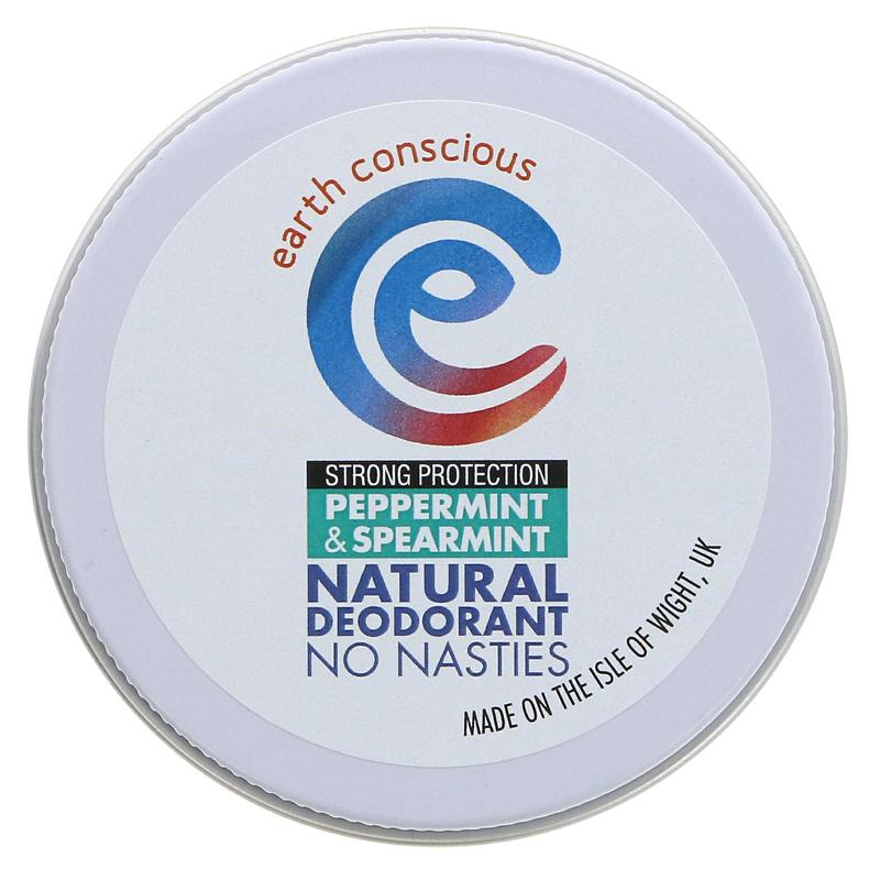 Earth Conscious - Peppermint & Spearmint Deodorant Tin