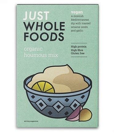 Just Wholefoods - Houmous Mix