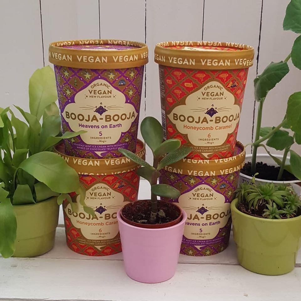 Booja Booja - Honeycomb Caramel Ice Cream (500ml)