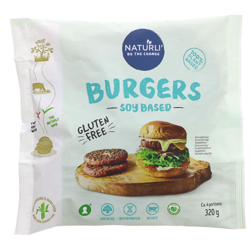 Naturli - Burgers 4 pack