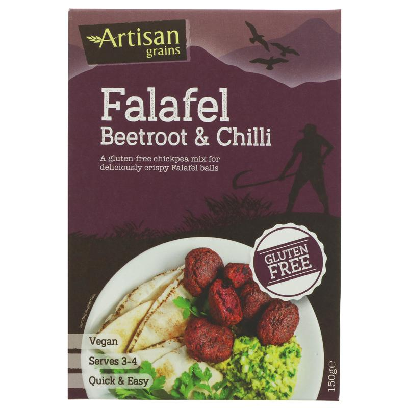 Artisan Grains - Falafel Mix Beetroot & Chilli