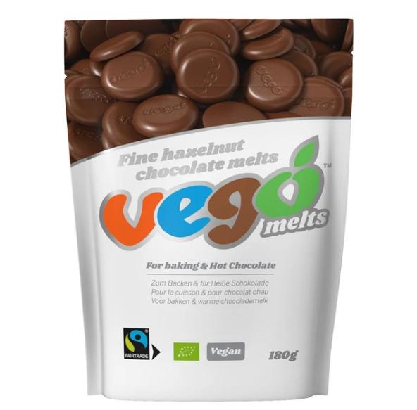 Vego - Hazelnut Chocolate Melts - COMING SOON!