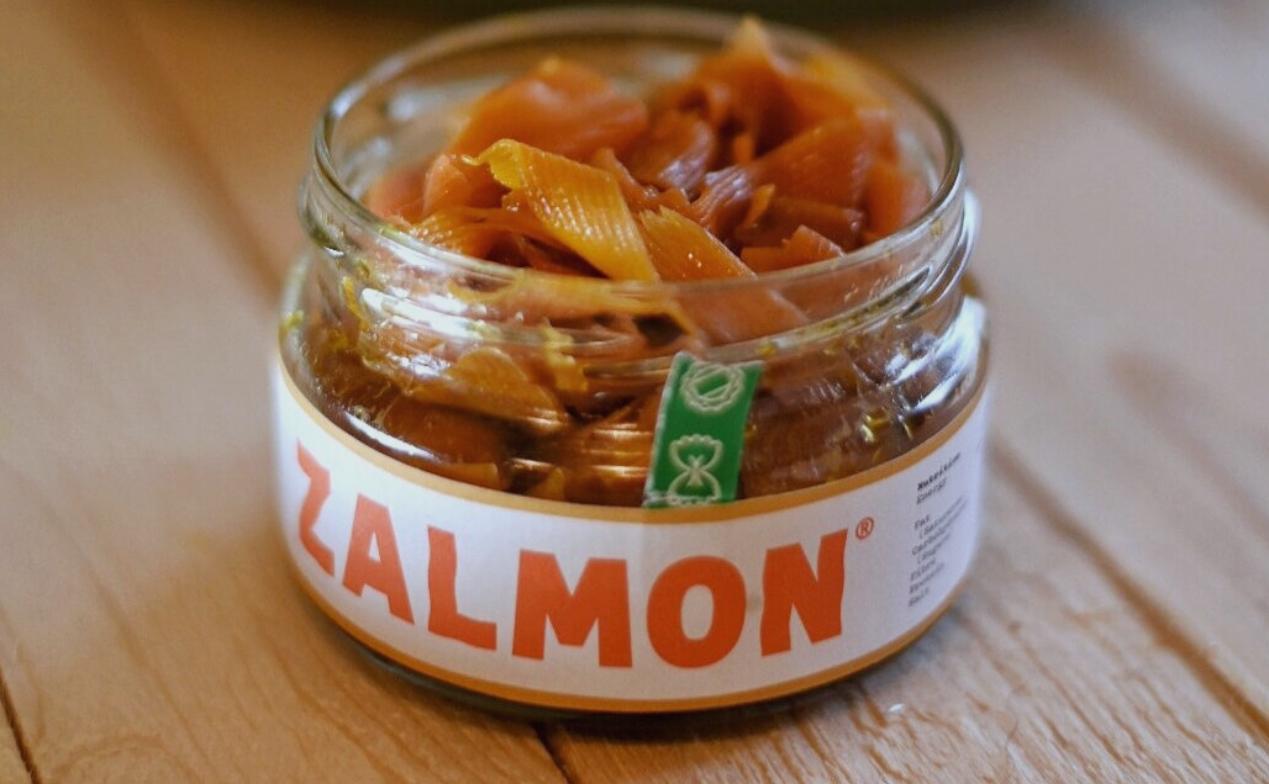 Zalmon (vegan alternative to smoked salmon)