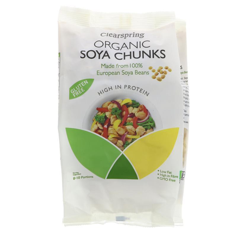 Clearspring - Organic Soya Chunks