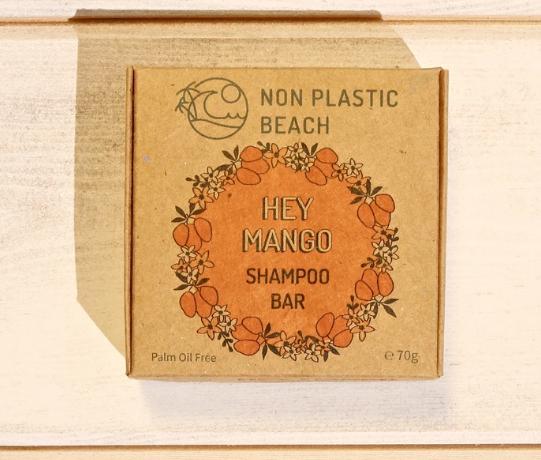 Non Plastic Beach - 'Hey Mango' Shampoo Bar (70g)