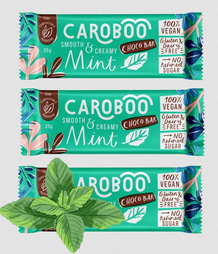 Caroboo - Mint Choco Bar
