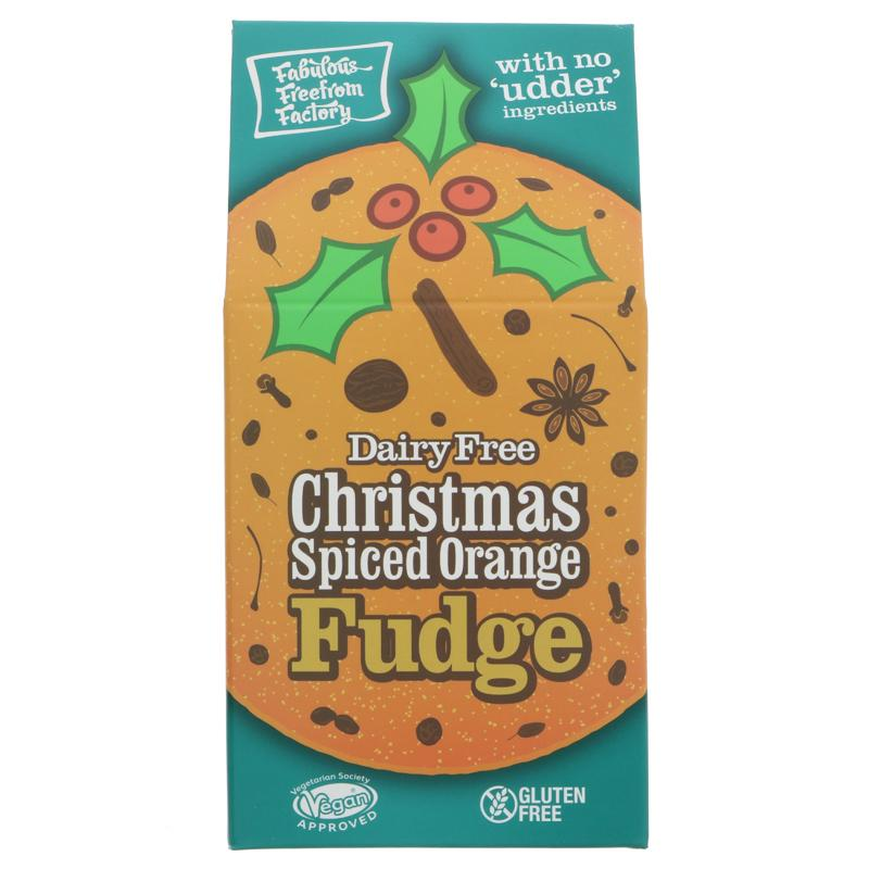 Fabulous FreeFrom Factory - Christmas Spiced Orange Fudge