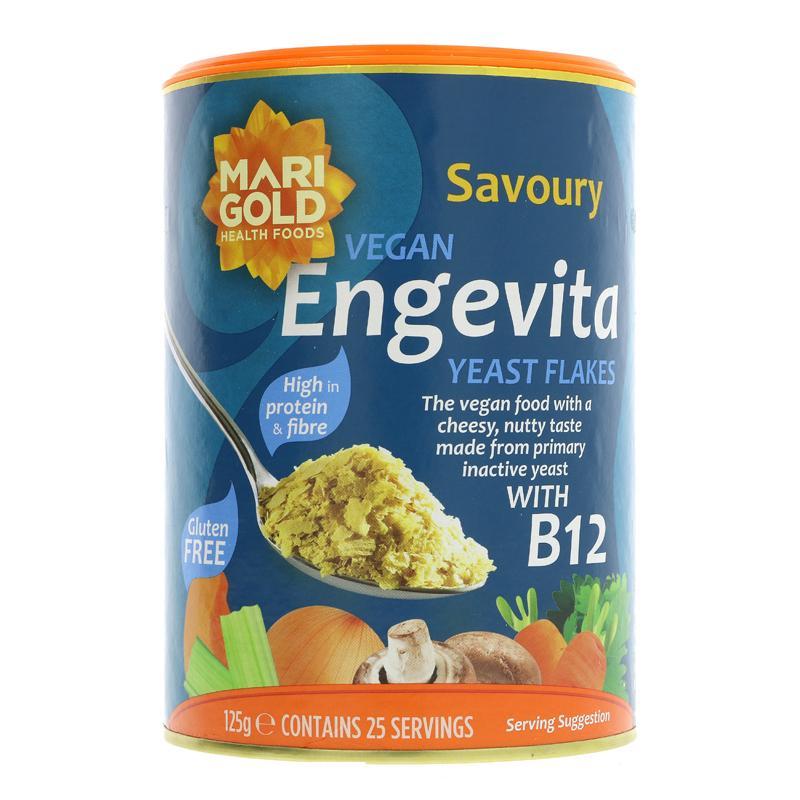Marigold - Engevita Yeast Flakes (Nooch) with B12