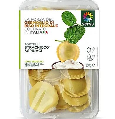 Verys Fresh Tortelli - MozzaRisella & Spinach 250g