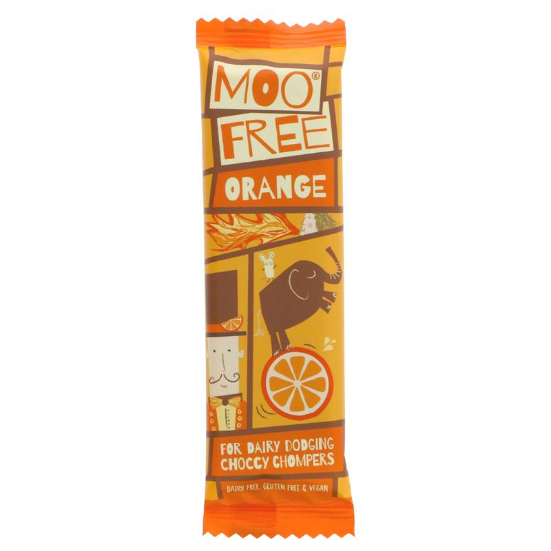 Food Bank Donation - Moo Free Chocolate Bar - Various (20g)