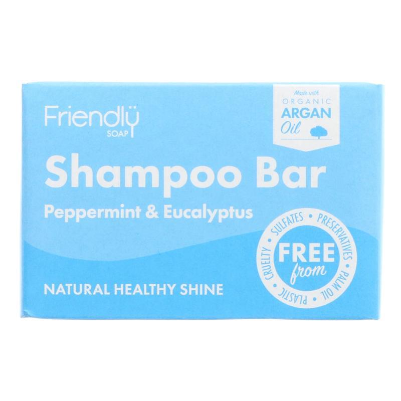Friendly Soap - Shampoo Bar Peppermint & Eucalyptus