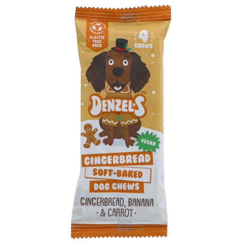 Denzel's - Gingerbread Christmas Dog Chews (75g)