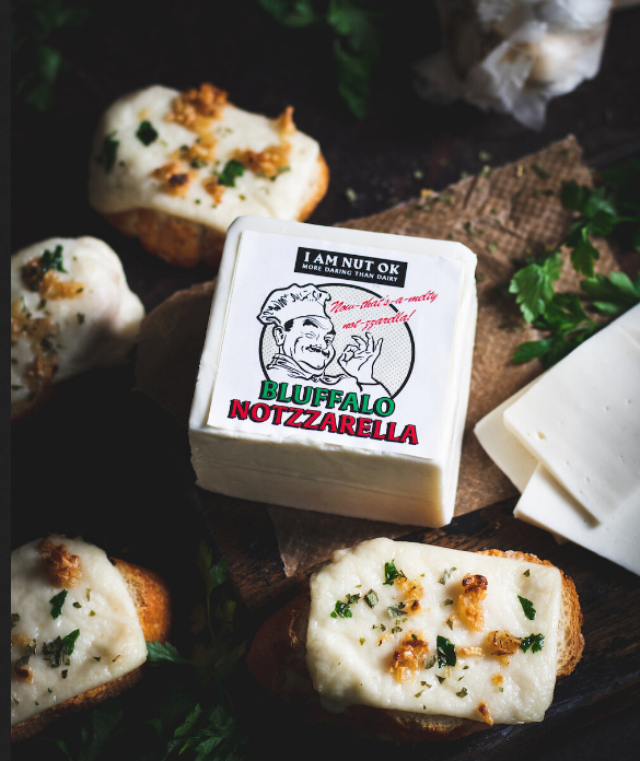 I AM NUT OK - Bluffalo Notzzarella - Vegan Mozzarella