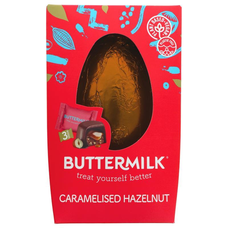 Buttermilk Caramelised Hazelnut Duo Egg